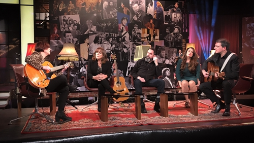 Eleanor McEvoy, Mary Black, Phelim Drew, Aoife Scott  and Fiachna O Braonain launch Ireland's Favourite Folk Song on The Late Late Show