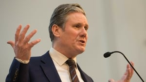 Keir Starmer said he believed in the event of a second referendum, the option of remaining in the EU must be on the ballot paper