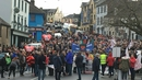 Thousands turned out for the South-East Broken Hearts demonstration
