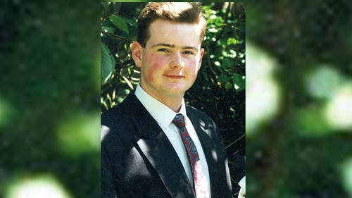 21-year-old Michael Ferguson, from Omagh in Co Tyrone, was shot dead while on duty in Shipquay Street in Derry