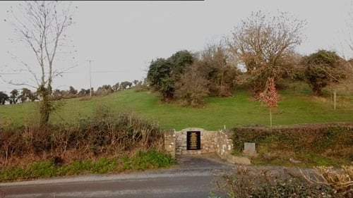 Soloheadbeg ambush site where two Irish policemen were killed in January 1919 sparking the War of Independence