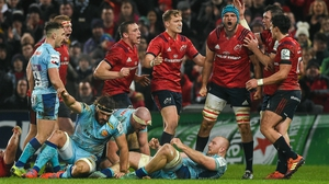 Tadhg Beirne's breakdown work was critical to Munster's victory