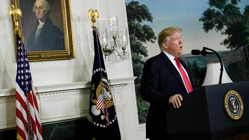 Donald Trump's idea has been rejected by Democrats