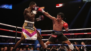 The fight was scored 117-111, 116-112, 116-112 in Manny Pacquiao's favour