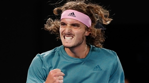 Stefanos Tsitsipas beat the defending champion in four sets