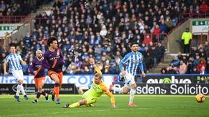 Leroy Sane fires home the final  goal