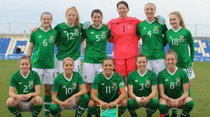 The Ireland XI that started in Belgium (photo courtesy of FAI)