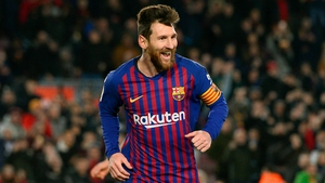 Leo Messi made one and scored one to swing it for Barca