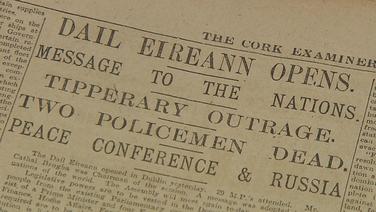 Comóradh ar theacht le chéile Dháil Éireann