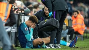 Dele Alli could be set for an extended time on the sidelines
