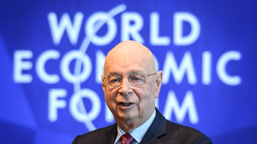 Klaus Schwab, the founder and executive chairman of the World Economic Forum