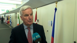Michel Barnier said the focus was now on the future relationship and the Political Declaration which sketches that relationship