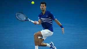 Novak Djokovic had to work hard to overcome Daniil Medvedev