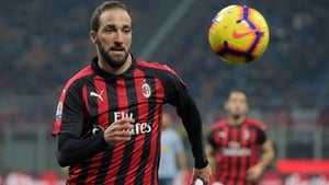 Gonzalo Higuain remains in limbo