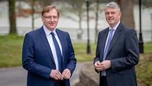 Jan Anker, CEO of Royal A-ware and Jim Bergin, CEO of Glanbia Ireland