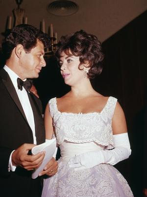Elizabeth Taylor in Christian Dior (1960)