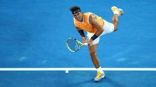 Rafa Nadal claimed a big victory over Frances Tiafoe