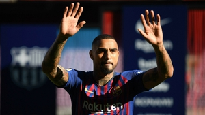 Kevin-Prince Boateng is happy to bide his time at Barcelona