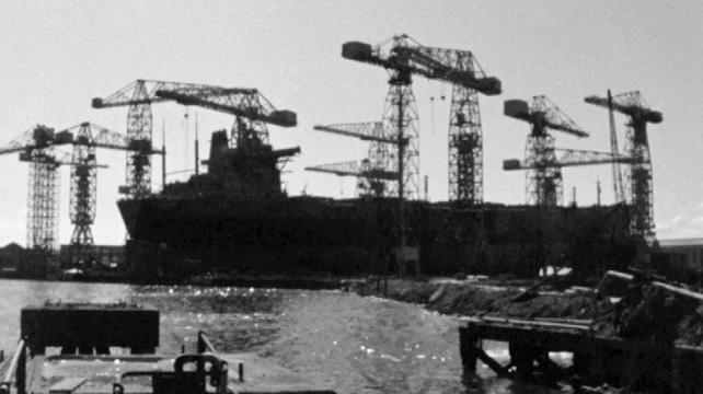 Queen's Island, Belfast Shipyard (1969)