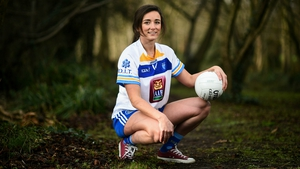 Niamh McEvoy of DIT at the launch of the Gourmet Food Parlour HEC Ladies Football Championships