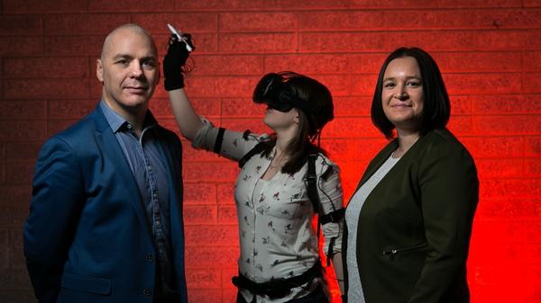 David Whelan, CEO and Sandra Whelan, COO of VR Education Holdings