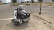 RTÉ News: Cardboard costumes transform Bogota artist's life