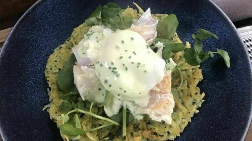 Neven's Smoked Haddock Hash with Poached Eggs