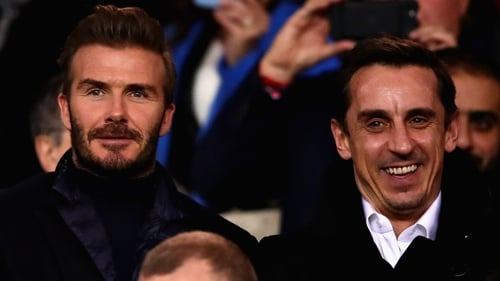 David Beckham is joining his old Class of '92 buddies at Salford City