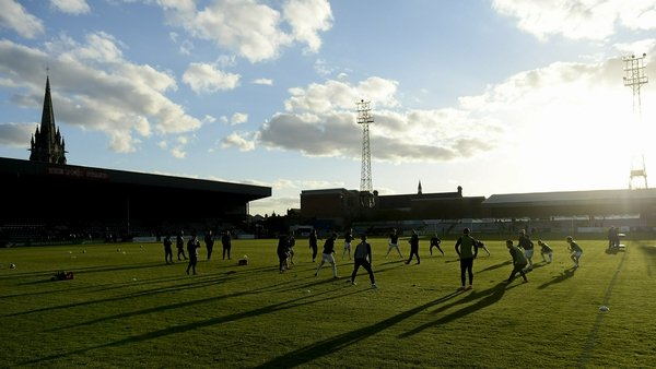 """""""A possible location for a National Soccer Museum in Ireland could be the soon to be redeveloped Dalymount Park, the so-called """"home of Irish football""""anda richly historic site"""" Photo: Sam Barnes/ Sportsfile via Getty Images"""