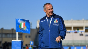 Conor O'Shea takes charge of Italy for a third successive Six Nations campaign still seeking a win