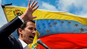 Juan Guaido was elected president of the National Assembly in December