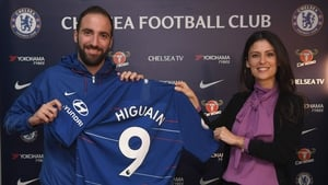 Higuain signs for Chelsea until the end of the season