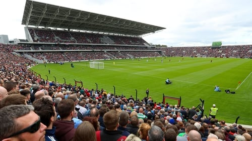A packed Páirc Uí Chaoimh during the Liam Miller Tribute Match