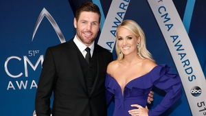 Mike Fisher and Carrie Underwood -