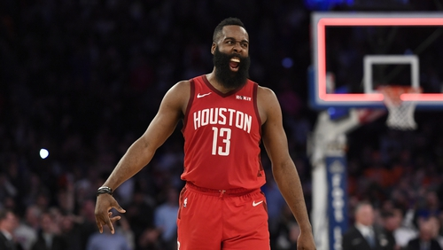 James Harden said the team appreciates the support it gets in China