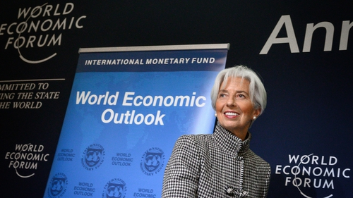 Christine Lagarde said she was honoured by the ECB nomination