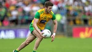 Eoghan Bán Gallagher has been a solid performer in the Donegal half-back line