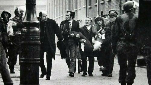 Bloody Sunday in Derry 1972. Photo: Stanley Matchett