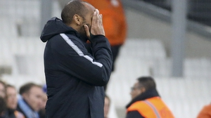Monaco won just two of 12 league games since Thierry Henry took charge