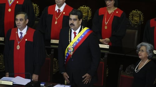 Nicolas Maduro made the announcement during a special session at Venezuela'a Supreme Court
