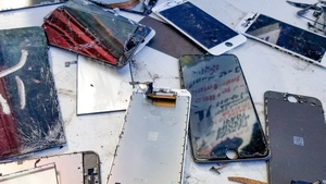 In 2016 alone, 435,000 tonnes of phones were discarded, despite containing billions of dollars' worth of materials