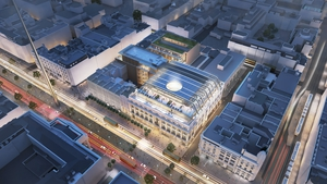 An estimated 750 construction jobs will be created during the buildingphase of the Clerys Quarter development