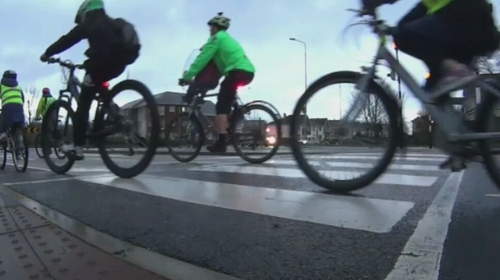 The Green Party want to give cyclist and pedestrians priority on the country's roads