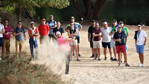 Dubai Desert Classic - Matthew Fitzpatrick fires into lead after late birdie spree