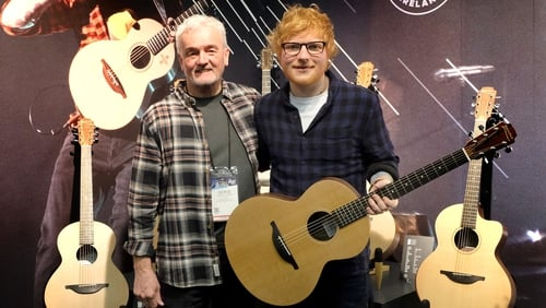 George Lowden and Ed Sheeran