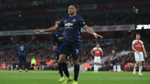 Alexis Sanchez had a triumphant return to the Emirates