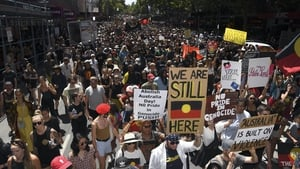 Protests attended by several thousand people took place in Melbourne, Canberra and other Australian cities