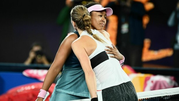 Osaka wins first set against Kvitova in Australian Open final