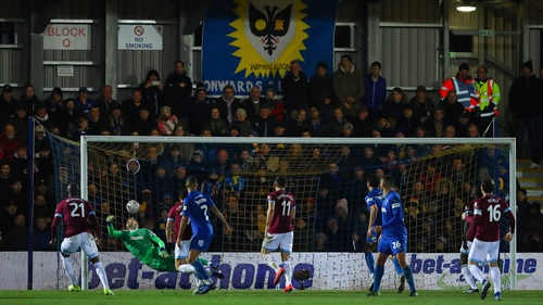 AFC Wimbledon sprung the surprise of the fourth round with a win over West Ham