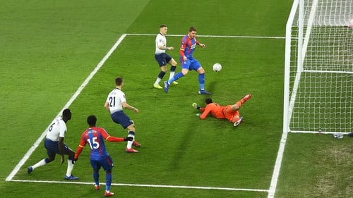 Palace knocks Tottenham out of FA Cup